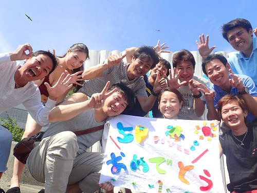 先週のお客様の声【記念ダイビング】(9/10~9/16)