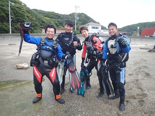 先週のお客様の声【ダイバー認定】(5/13~5/19)