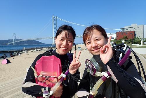 先週のお客様の声【ダイバー認定】(9/21-9/27)