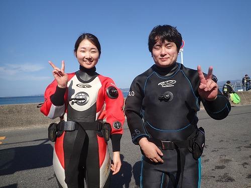 先週のお客様の声【ダイバー認定】(11/9-11/15)
